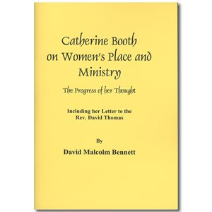 CATHERINE BOOTH-WOMEN'S PLACE AND MINISTRY
