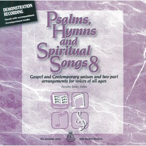 PSALMS HYMNS & SPIRTUAL SONGS CD #8