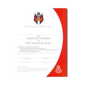 adherent certificate 2010