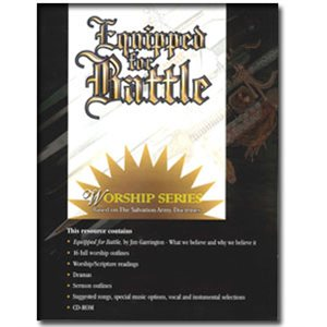 EQUIPPED FOR BATTLE PROGRAM COVERS @ BULLETINS