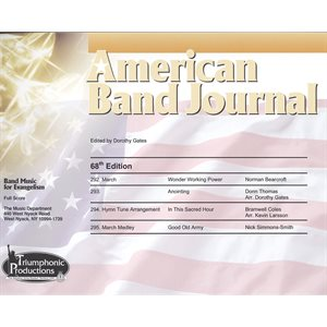 American Band Journal 68 (292-295) Spring 2012