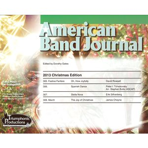American Band Journal 71 (305-308) Christmas 2013