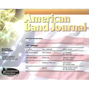 American Band Journal 74 (317-321) Spring 2015