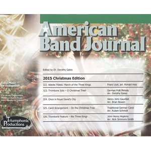 American Band Journal 75 (322-326) Christmas 2015