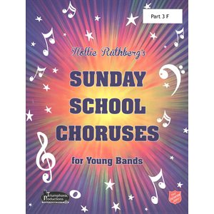 36 SS Choruses Part 3 F Hollie Ruthberg's for Young Bands