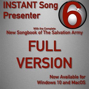 INSTANT SONG PRESENTER 6  (FULL VERSION)