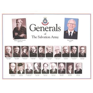 The Salvation Army Generals 2018 Poster