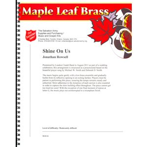 MAPLE LEAF BRASS #24 SHINE ON US