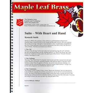 MAPLE LEAF BRASS #28 SUITE W / HEART & HAND