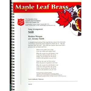 MAPLE LEAF BRASS #30 STILL