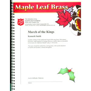 MAPLE LEAF BRASS #31 MARCH OF THE KINGS