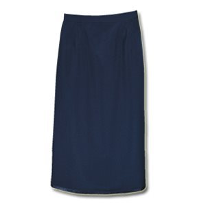 LADIES POLYESTER VENTED SKIRT