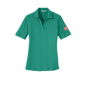 Polo VGreen Ladies w / shield on sleeve