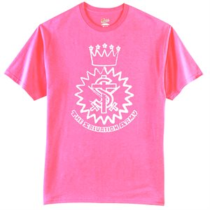 Wow Pink T-Shirt with Crest