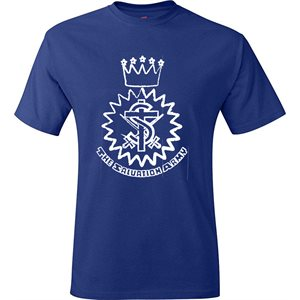 Royal Blue T-Shirt With Crest
