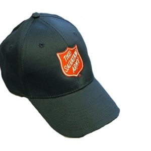 Navy Blue Baseball Cap With Shield