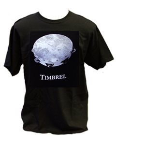T SHIRT BLK TIMBREL XL
