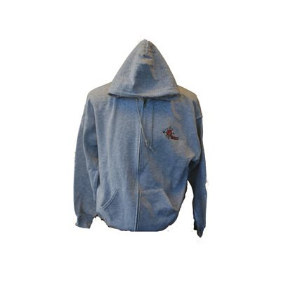 Zip Up Ash Grey Hoodie, with The Salvation Army Outdoors