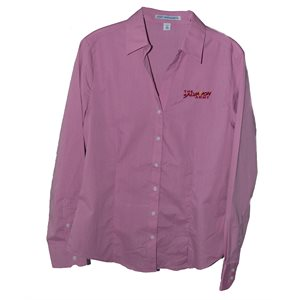 TEXTURE BLEND PINK LADIES OXFORD W / TSA
