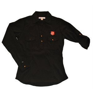 Women's Double Pocket Shirt w / Shield