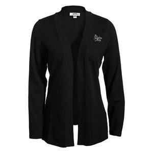 Black Cardigan With The Salvation Army Embroidery