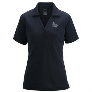 Ladies Navy Blue Polo Shirt with The Salvation Army Embroidery