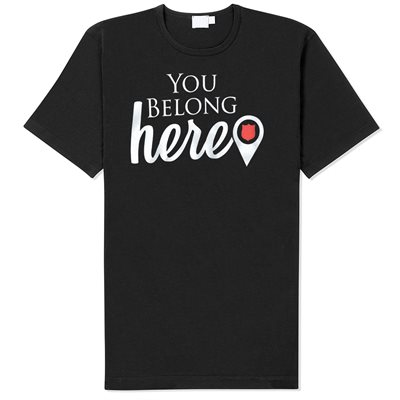 "T-Shirt ""You Belong Here"""