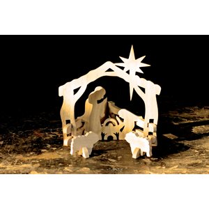 Wooden nativity set  Bangladesh