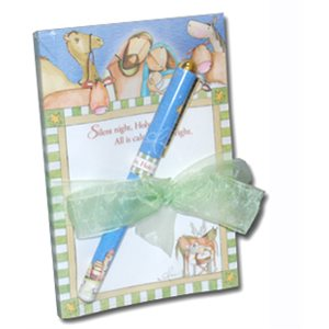 NOTEPAD GIFTSET  HOLY NIGHT