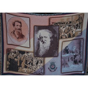 Images Of William Booth Afghan Blanket