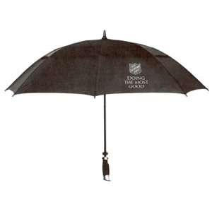 UMBRELLA BLACK W /  SHIELD DMTG #