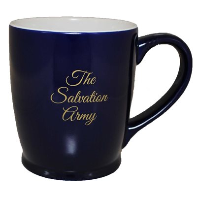 Mug 14Oz Blue with The Salvation Army In Gold