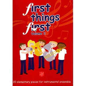 FIRST THINGS FIRST  /  PERCUSSION VOL2