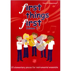 FIRST THINGS FIRST  / PIANO VOL2