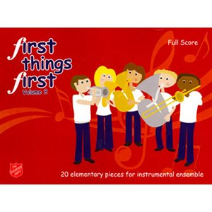 FIRST THINGS FIRST SCORE VOL2