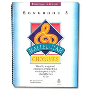 Hallelujah Choruses Vocal Book #3