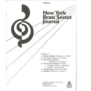 Brass Sextet Journal #7