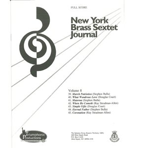 Brass Sextet Journal #8