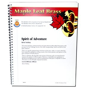 MAPLE LEAF BRASS #6