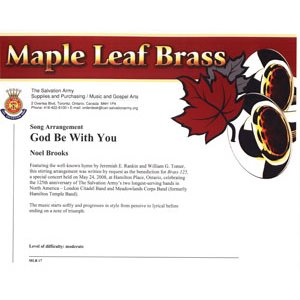 MAPLE LEAF BRASS #17 GOD BE WITH YOU DS