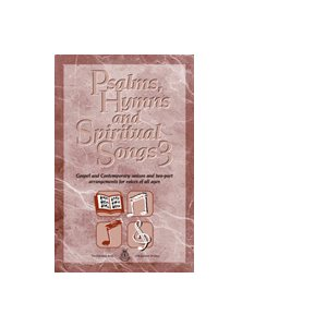 PSALMS, HYMNS #3 BOOK