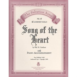 SONG OF THE HEART  - Classic Series Bb Cornet
