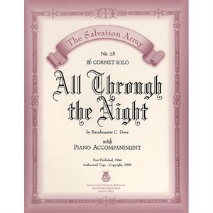 ALL THROUGH THE NIGHT  - Classic Series Bb Cornet