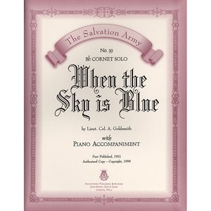 WHEN THE SKY IS BLUE  - Classic Series Bb Cornet