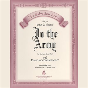 IN THE ARMY - Classic Series Eb