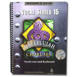 Hallelujah Choruses #15 Vocal Book