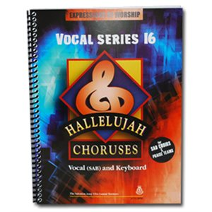 Hallelujah Choruses #16 Vocal Book