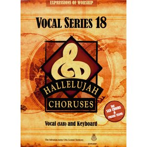 Hallelujah Choruses #18 Vocal Book