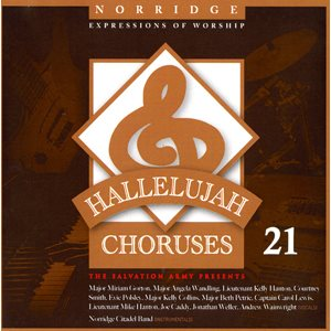 Hallelujah Choruses #21 Vocal Book