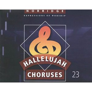 Hallelujah Choruses #23 Vocal Book